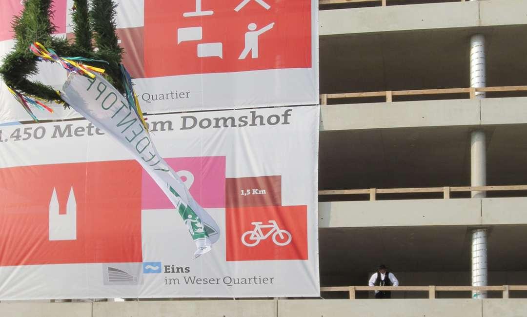 Bauunternehmen In Bremen nummer eins der überseestadt bremen feiert richtfest hc hagemann